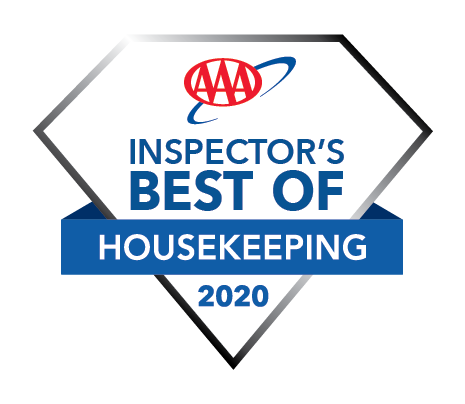 Triple A Inspector's Best of Housekeeping 2020 Award